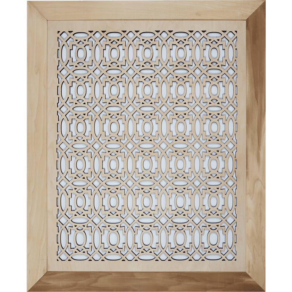 Moroccan Grille Cover - With Frame, Wall Vent, Intake Air Grille, Stellar Air, Decorative Vent Covers, Charleston, SC