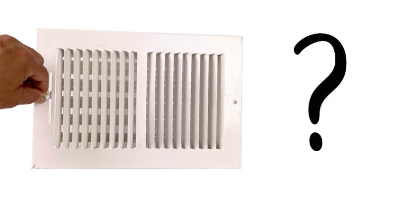 Actually, Closing Air Vents Does Not Save You Money
