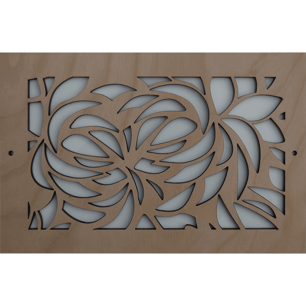 Leaves Vent Cover, Decorative Air Vent, Decorative Vent Cover, Custom Air Vent Cover, Stellar Air, Charleston, SC