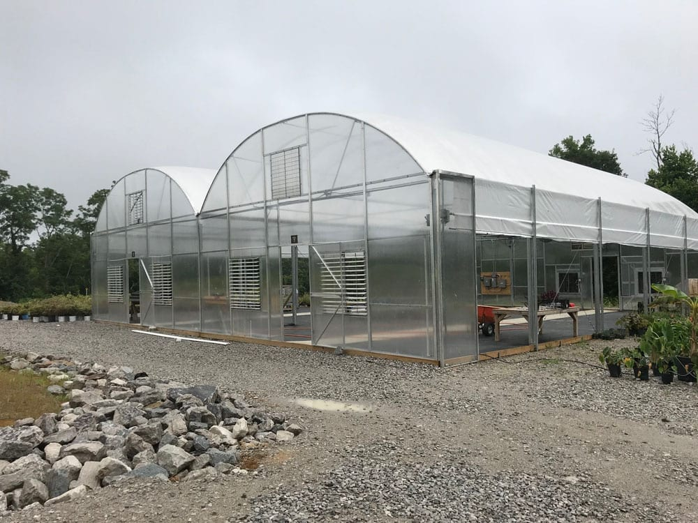 Jāderloon® Gutter Connect Greenhouse