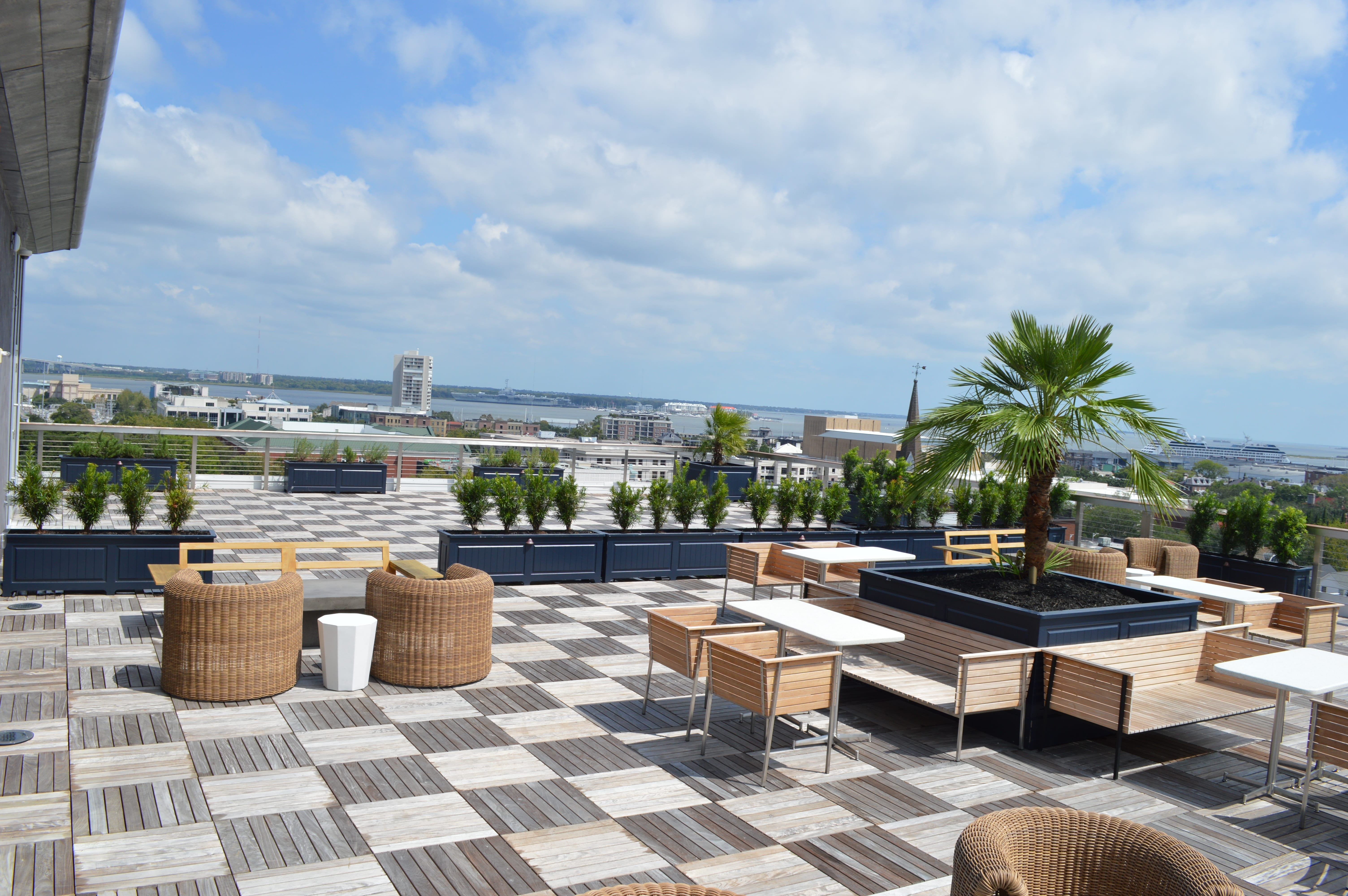 Dewberry Hotel Roof – Charleston, SC
