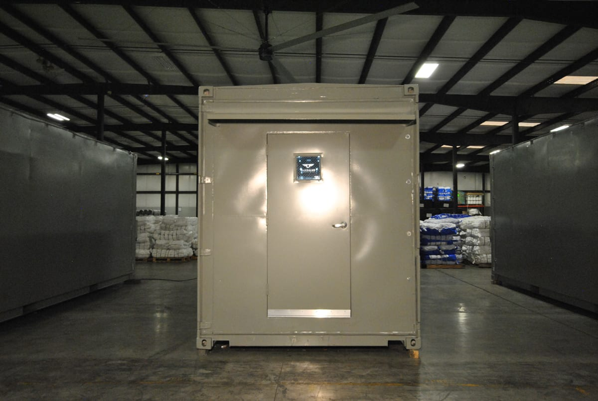 bms modular skids in container